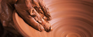 God is the potter. I am the clay.