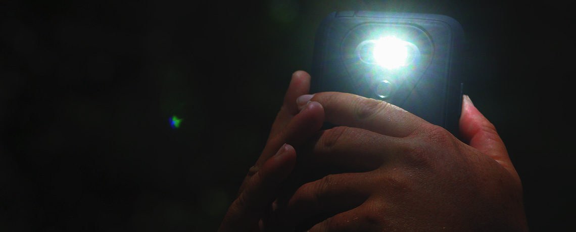 Flashlight for the Wilderness (Psalm 119:105)